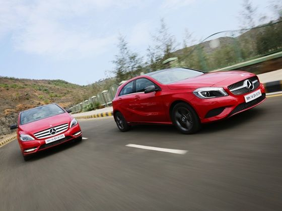 Mercedes Benz launches Edition 1 for A-Class and B-Class hatchbacks