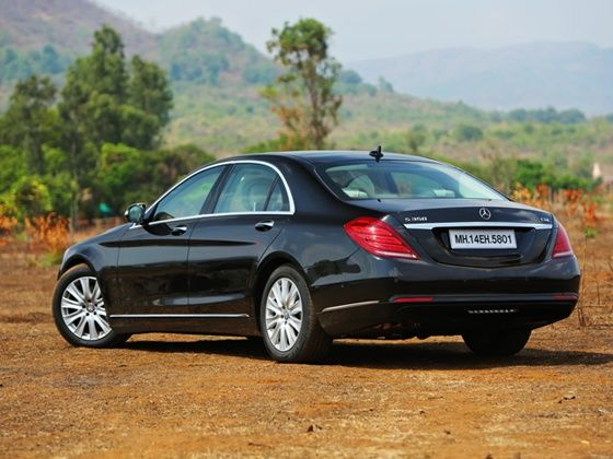 2014 Mercedes-Benz S-Class Review rear 2