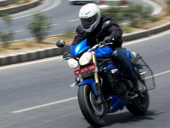 2014 Triumph Speed Triple test ride