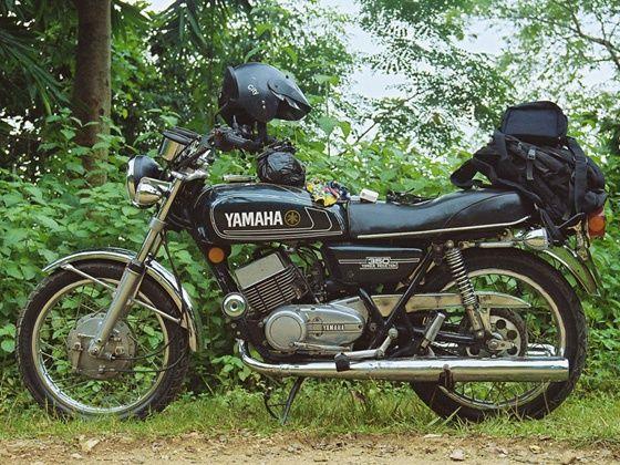 1986 Yamaha RD350
