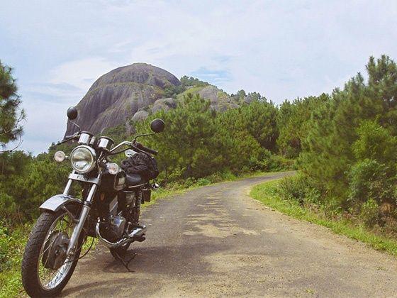 RD350 ride in Meghalaya