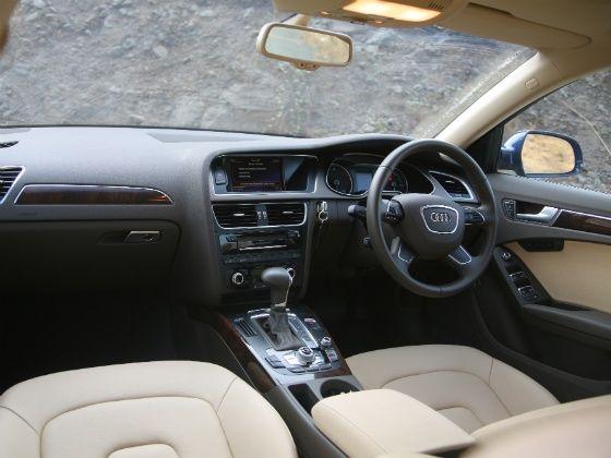 Audi A4 Diesel 177PS Interior