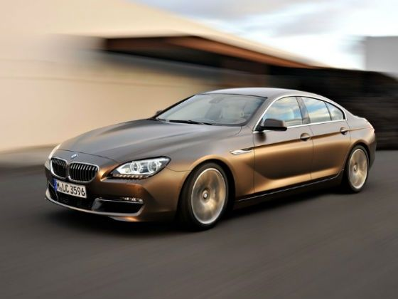 BMW 6 Series Gran Coupe action shot