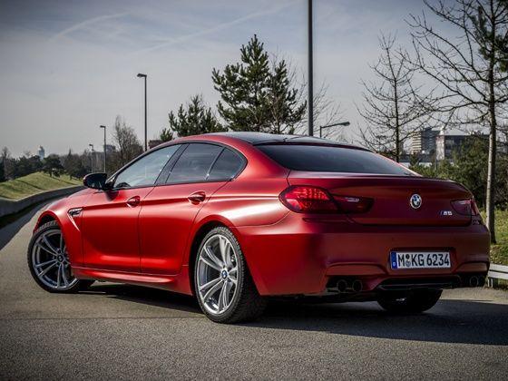2014 BMW M6 Gran Coupe rear