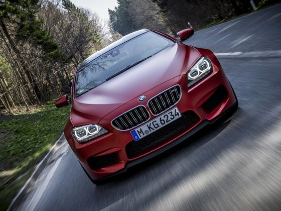 BMW M6 Gran Coupe in action