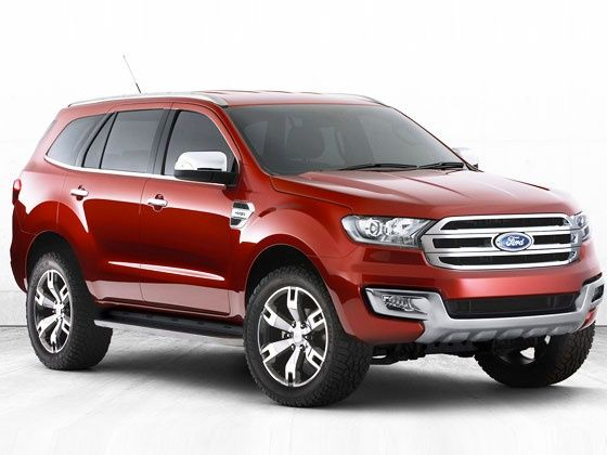 New Ford Everest Concept Front