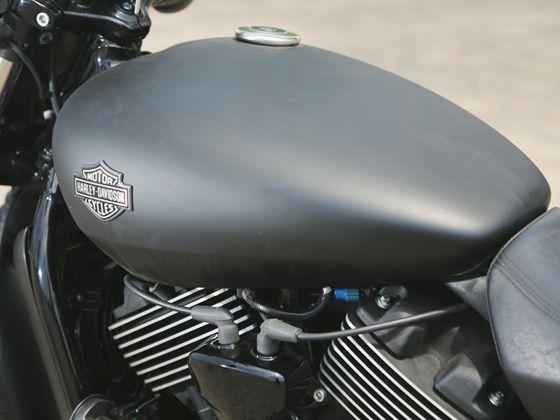 Harley-Davidson Street 750 review fuel tank