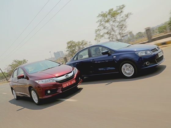 Honda City Volkswagen Vento Comparison Tracking