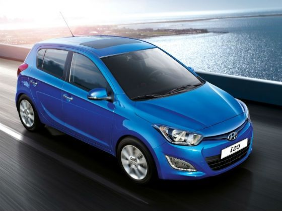 Current Hyundai i20 for representation purpose only