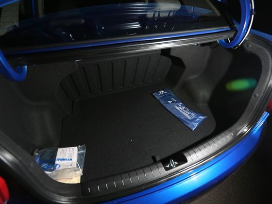 Hyundai Xcent boot space