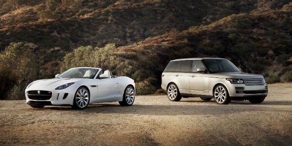 Jaguar Land Rover shows sales increase