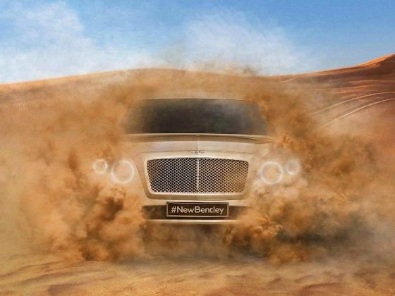 New Bentley SUV teased