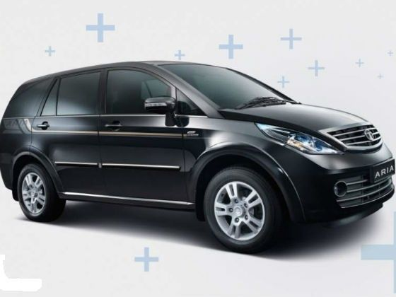 New Tata Aria front shot