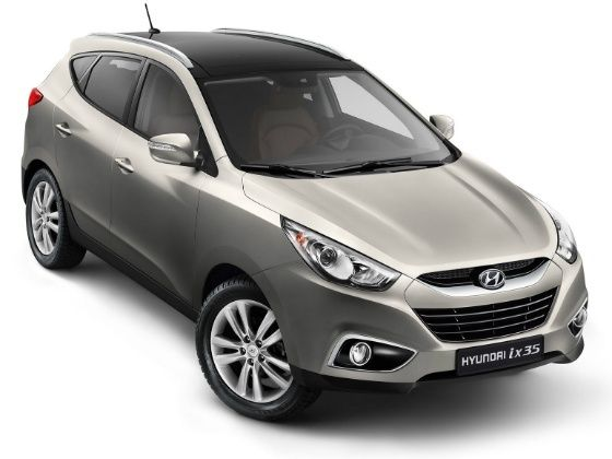 Hyundai ix35 for representation purpose only