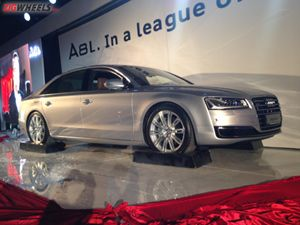 New Audi A8L launch event in Dubai
