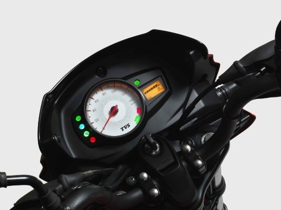 TVS Star City+ instrument cluster