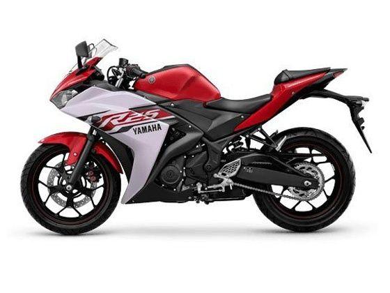 Yamaha R25 side shot