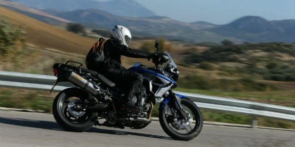 2015 Triumph Tiger 800 XRx Ride and Review