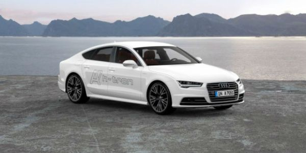 Audi A7 Sportback h-tron quattro concept revealed