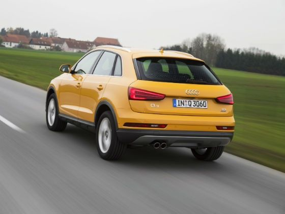 Performance test of the facelifted 2015 Audi Q3