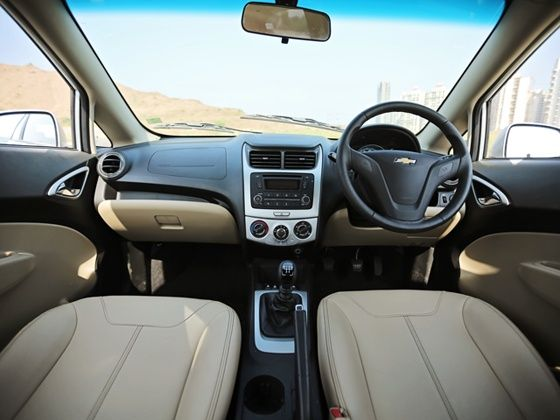 Chevrolet Sail facelift review interior