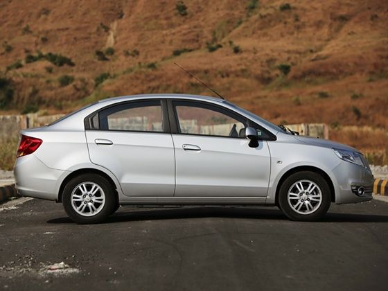 Chevrolet Sail facelift review side