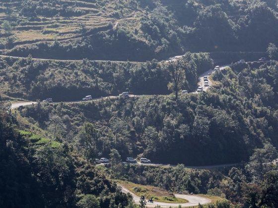 Mahindra Adventure Tri-Nation Drive Chalsa to Paro pic