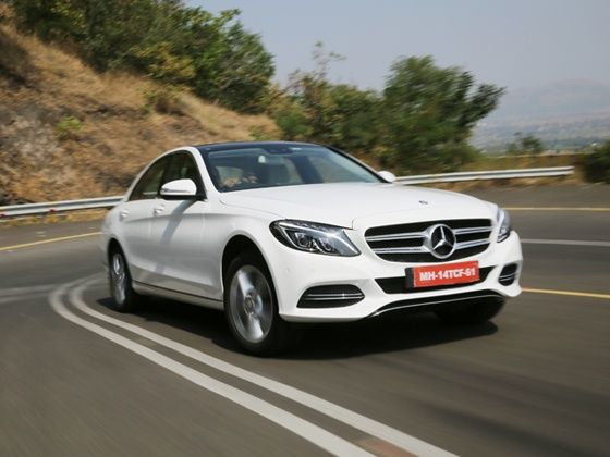 Performance test of the New 2015 Mercedes-Benz C-Class
