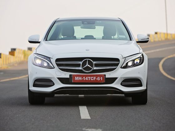 New 2015 Mercedes-Benz C-Class front design