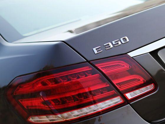 Mercedes-Benz E350 CDI badge