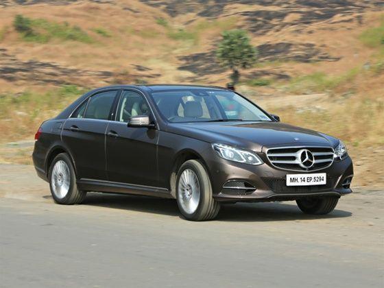 Mercedes-Benz E350 CDI driven