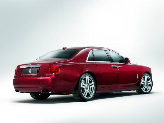Rolls Royce Ghost rear