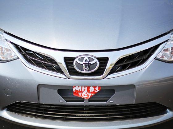 2014 new Toyota Etios front design changes