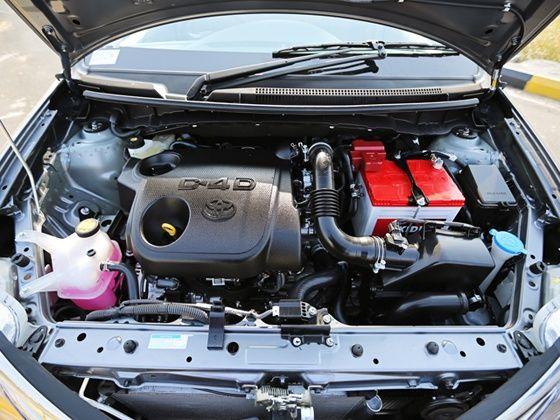 new Toyota Etios D4-D 1.4-litre diesel engine