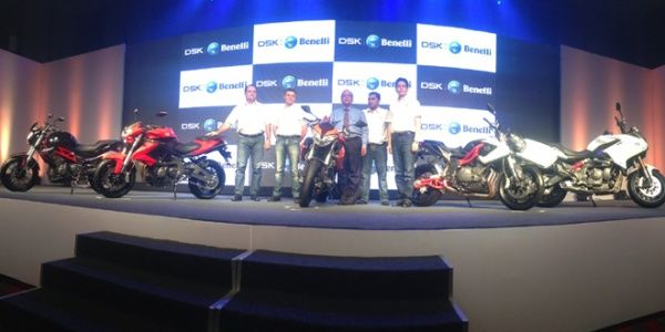 DSK launches Benelli in India