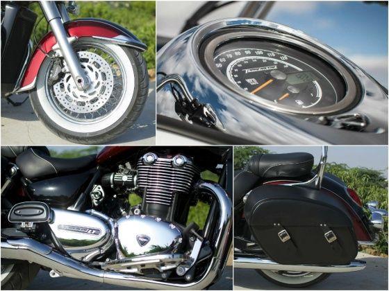 Triumph Thunderbird LT details