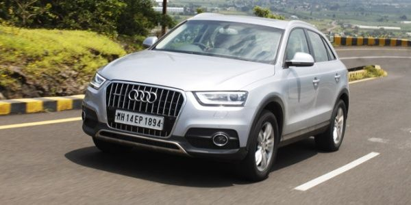 2014 Audi Q3 Dynamic test driven in India