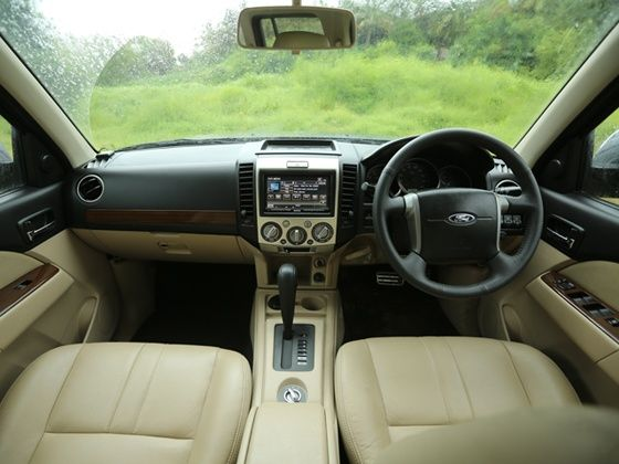 Ford Endeavour India facelift dashboard