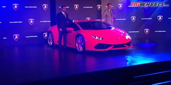 Lamborghini Huracan launched in India for Rs 3.43 crore