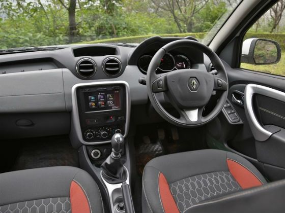 Renault Duster Interior 2014 Renault Duster Awd