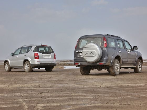 New Ford Endeavour vs Ssangyong Rexton