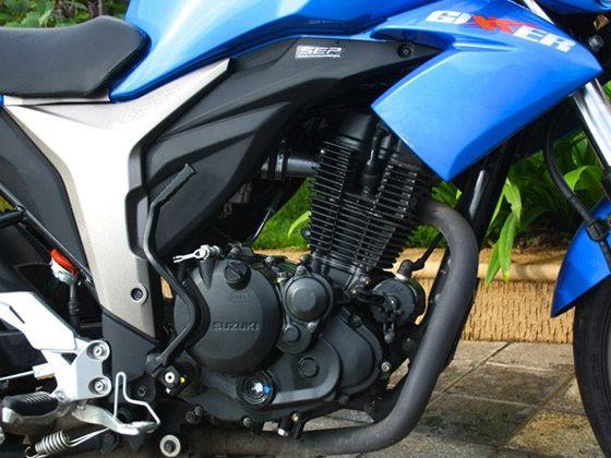 Suzuki Gixxer SEP equipped new 155c engine