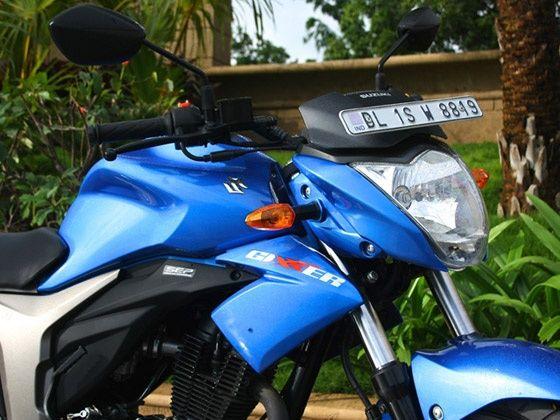 Suzuki Gixxer 155 headlight design