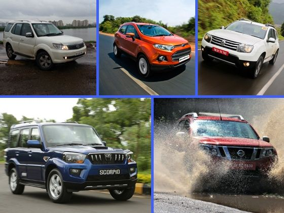 Safari Strome, EcoSport, Duster, Scorpio and Terrano
