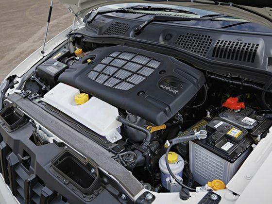 2015 Mahindra Xylo review engine