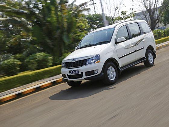 2015 Mahindra Xylo review front panning