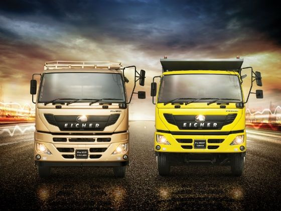 Eicher Pro 6000 Series Launch