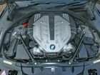 BMW 7 series engine shot