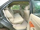 Toyota Fortuner Rear Seating