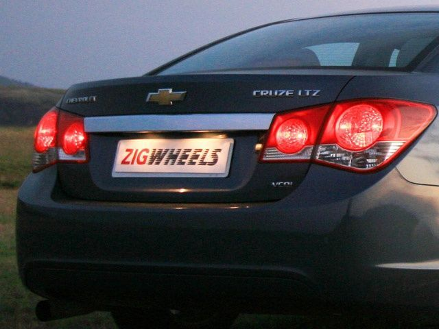 Chevrolet Cruze Rear Detail